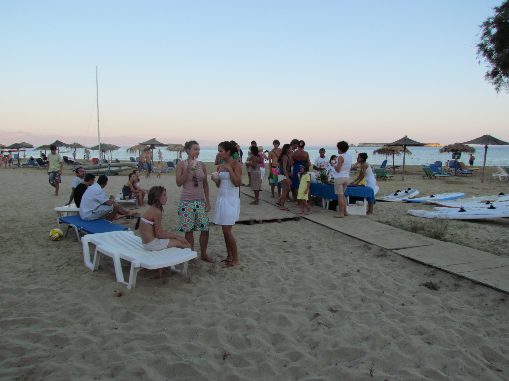 Paros windsurf center