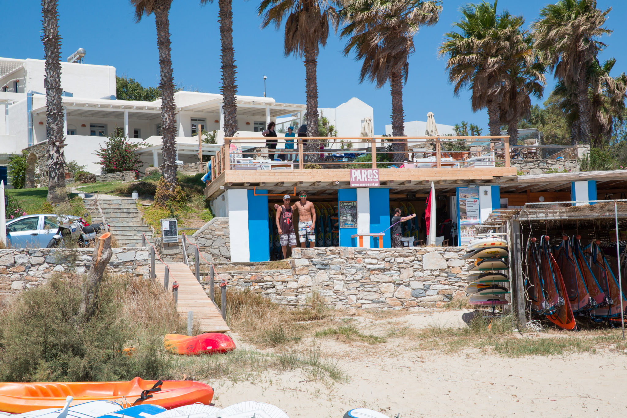 Friends Paros surf club