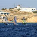 Paros windsurf new golden beach