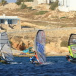 Paros windsurf new golden beach