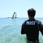 Paros windsurf lessons new golden beach
