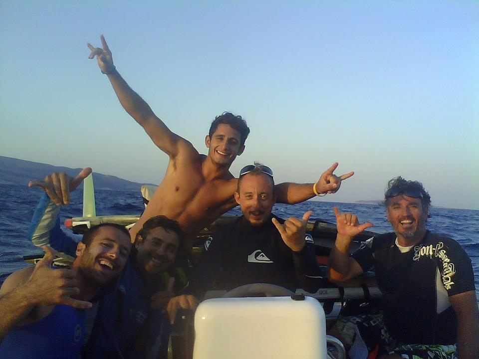 Pro team windsurf paros